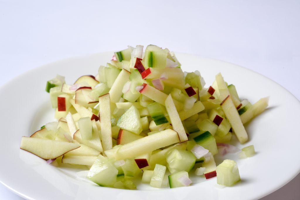 Apple Cucumber Slaw