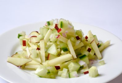 Apple Cucumber Slaw