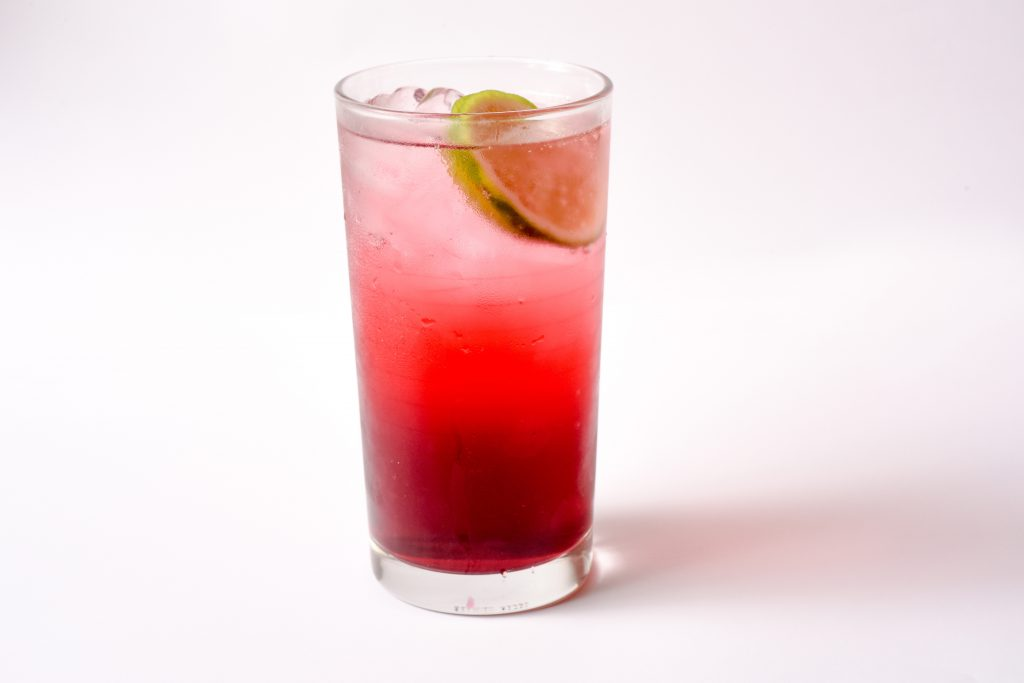 Cranberry Lime Soda