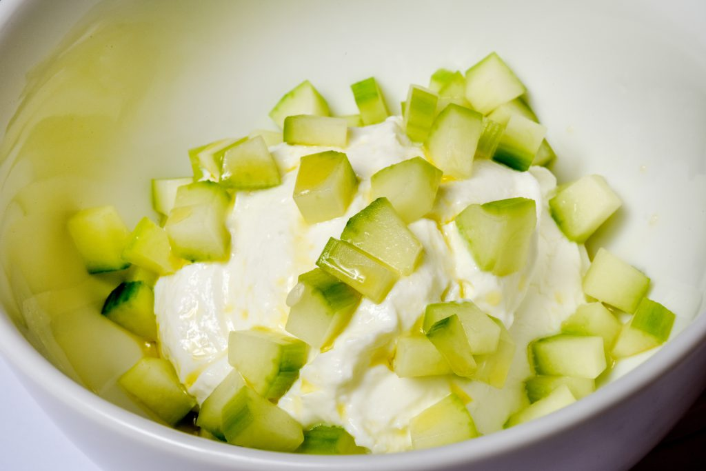 Cucumber Olive Oil Sea Salt Yogurt