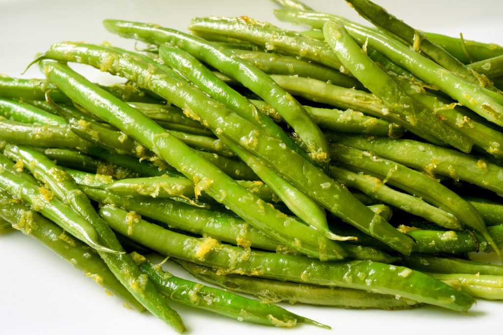 Green Beans with Lemon Zest