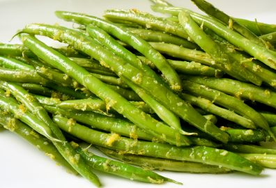 Green Beans with Lemon Zest