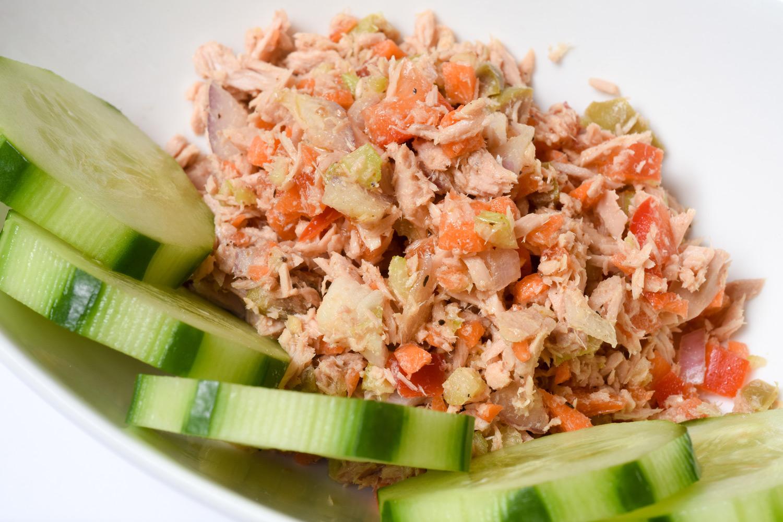 Mediterranean Tuna Salad - Med Instead of Meds