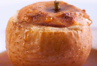 Microwave Baked Apple