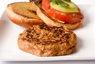 Quinoa Pinto Bean Burger