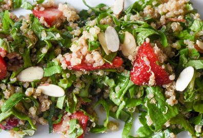 Quinoa Strawberry Salad