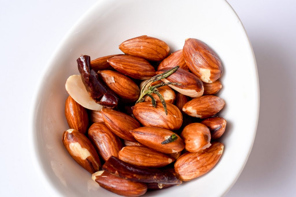 Rosemary Chili Almonds