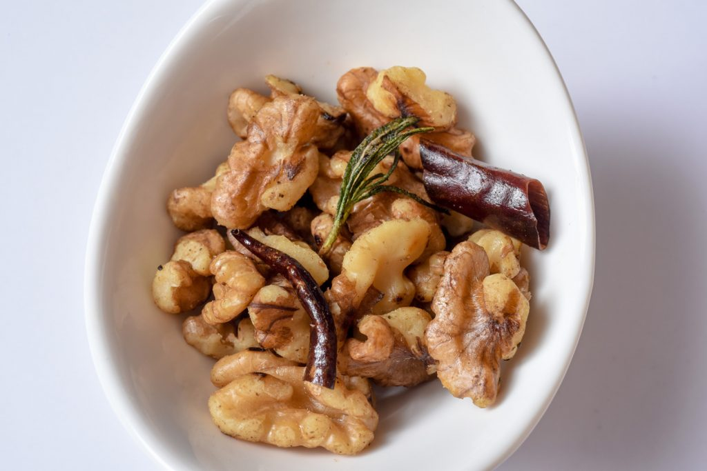 Rosemary Chili Walnuts