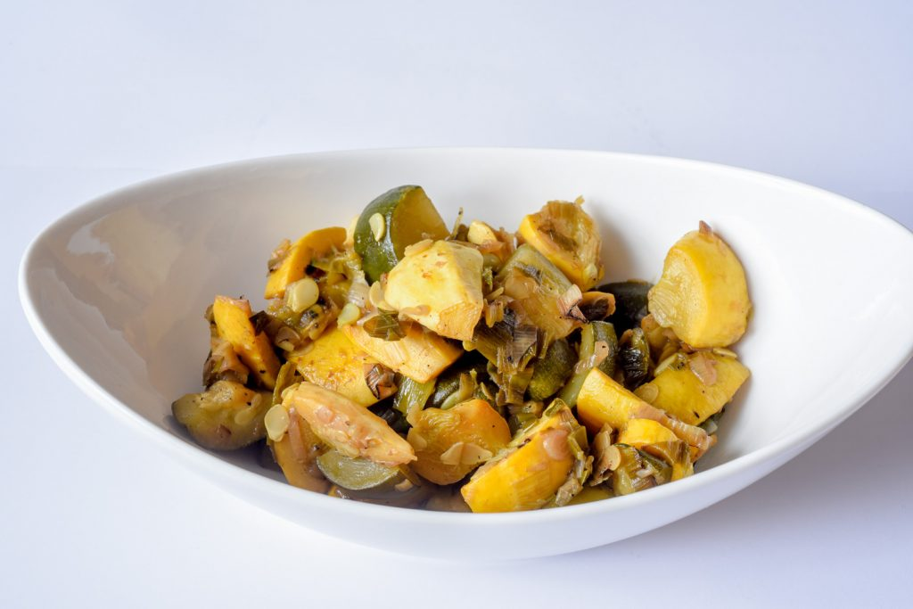 Sauteed Squash and Onions