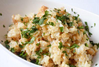 Spicy Garlic Rice