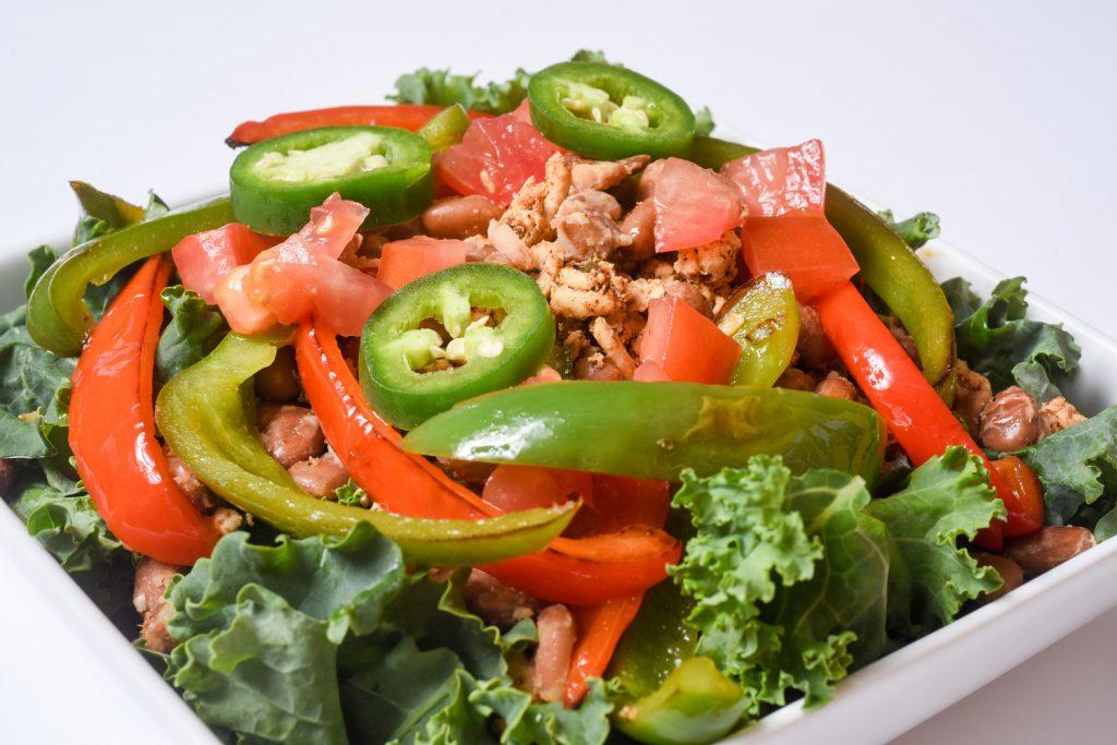 Turkey and Bean Taco Salad