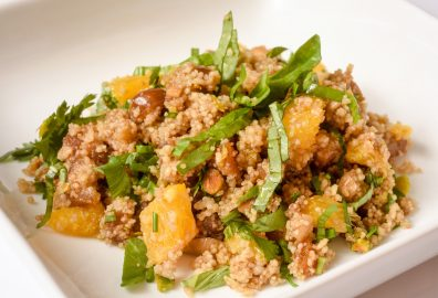 Whole Wheat Couscous Salad